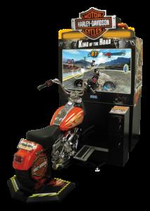 Sega Harley Davidson Arcade Game Simulator by Birmingham Vending